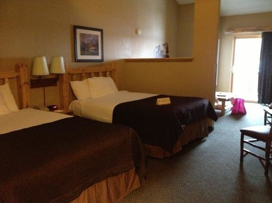 Great Wolf Lodge:                   our room