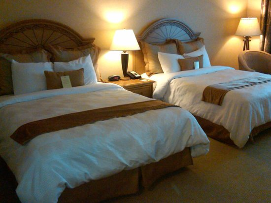 The Inn at Charles Town:                   Comfortable Beds