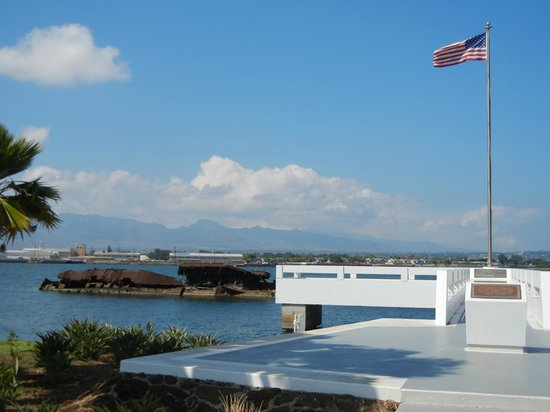Aloha Private Tours: U.S.S. Utah, on private base