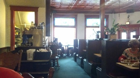 The Courier Cafe: Courier Cafe Interior