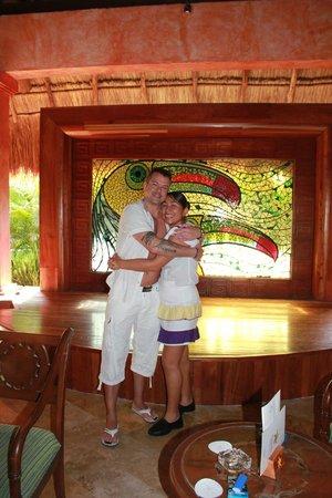Iberostar Tucan Hotel:                                     Aremy et moi