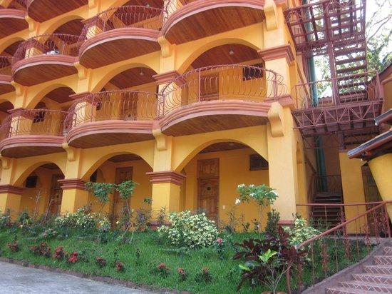 Hotel San Bada: front of hotel
