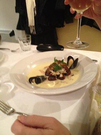 Conservatory Restaurant - Exeter: roast monkfish