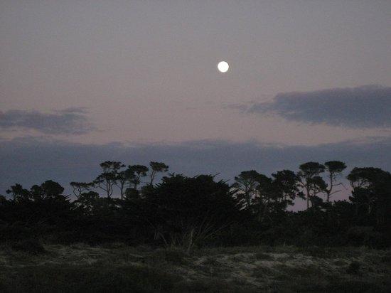 أسيلموار كونفرنس جراوندز: Moonrise over the dunes