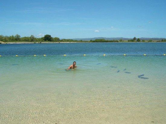 Las Aguas de Moises:                   poza buena vista es una de las mas grandes y también es de agua termal