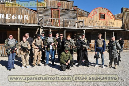 Benidorm Airsoft: airsoft groups daily