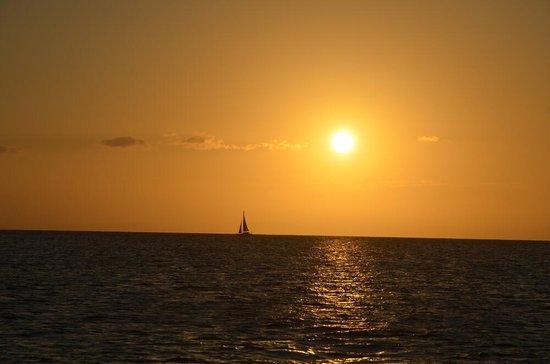 Adventure Moreton Island:                   the sunset