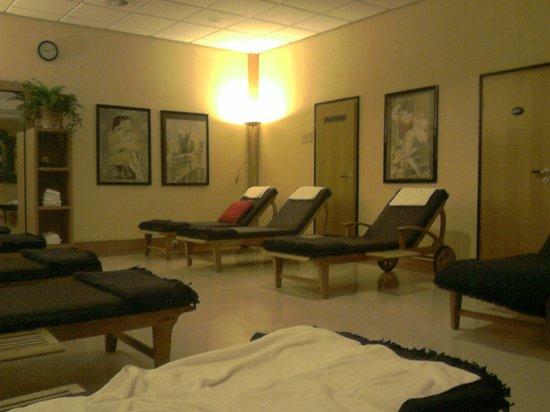 Lindner Hotel & Sporting Club Wiesensee:                   Wellnessbereich - Ruheraum