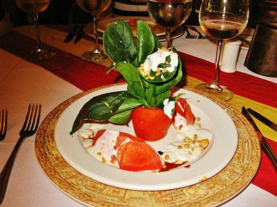 Occidental Costa Cancun :                                                       Assiette revisitée au Don Quicote (cuisine