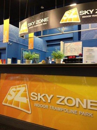 Sky Zone Trampoline Park:                   Sky Zone