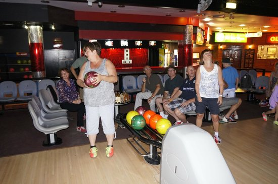 Surfers Paradise Tenpin:                   Hoping for a strike