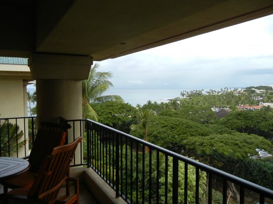 Four Seasons Resort Maui at Wailea: Lanai from our suite