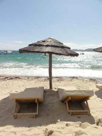 Plage de Palombaggia : Relaxed