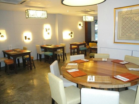 Batik Boutique Hotel: Ground floor breakfast area and restaurant