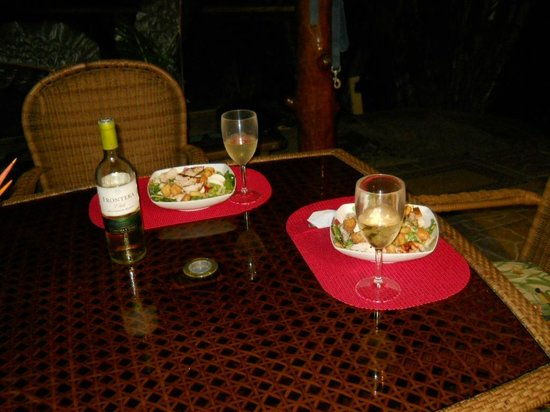 Garden of Eden Inn: Dinner for two
