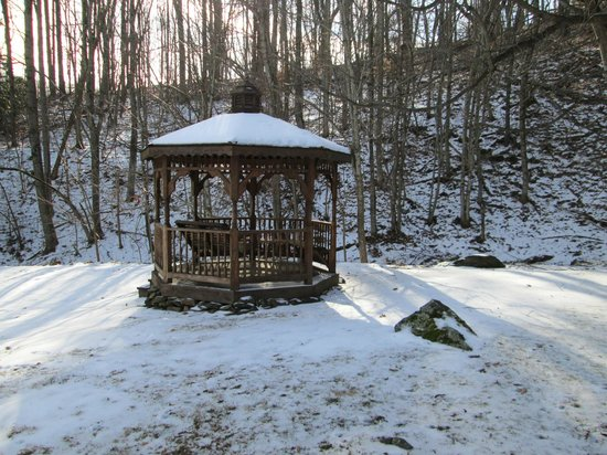 Lovill House Inn - Bed and Breakfast:                   Gazebo on the grounds