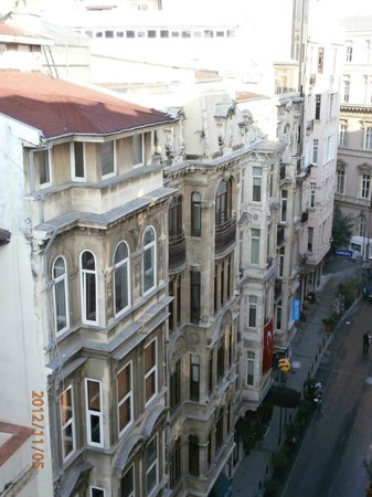 The Pera Hotel:                                     View from the Balcony