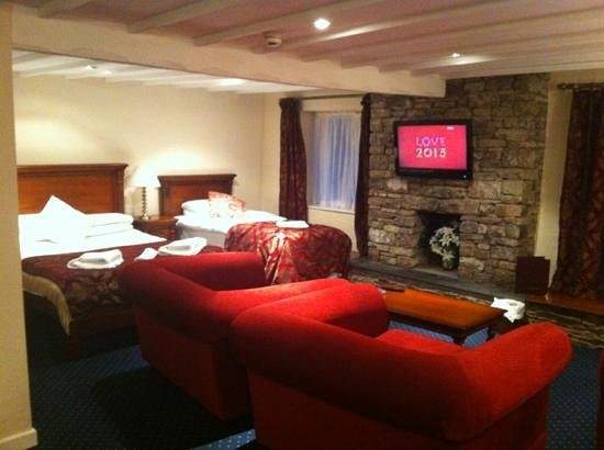 Damson Dene Hotel:                                     The Woodland Suite