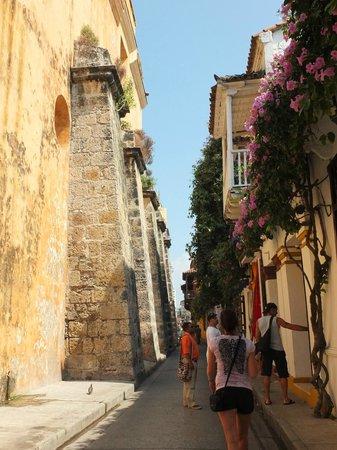 Decameron Baru: Rue à Cartagena dans le secteur historique