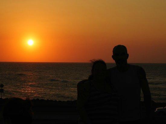 Decameron Baru: Couché de soleil au Café Del Mar à Cartagena