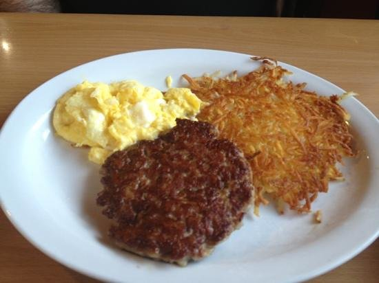 J C's Red Kettle : one of breakfast specials