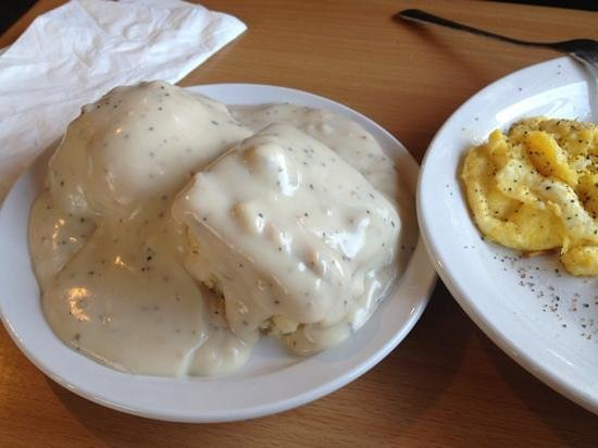 J C's Red Kettle : biscuits and gravy