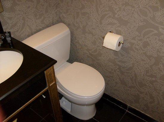 Sir Francis Drake Hotel - a Kimpton Hotel:                   Toilet corner