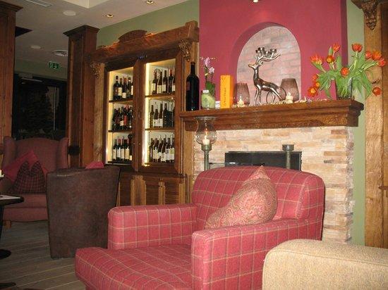 Sporthotel Manni:                                                       Lounge Area