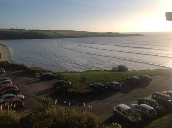 Inchydoney Island Lodge & Spa :                   from the bedroom