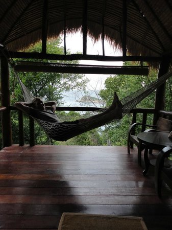 Baan Talay Koh Tao:                                     Relaxing in the hammock