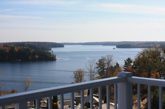 JW Marriott The Rosseau Muskoka Resort & Spa:                   Room view....