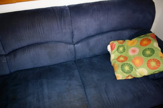Bocas Villas: The sofa, I wish I could send one from Ikea