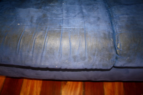 Bocas Villas: Detail of that sofa