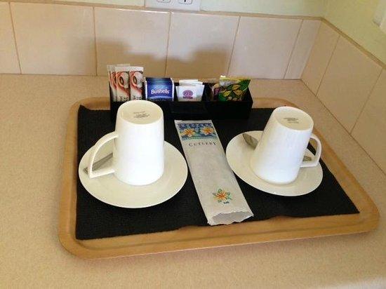 Admella Motel:                   Tea and coffee