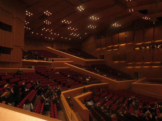 Munich Philharmonic: Zuschauertribünen