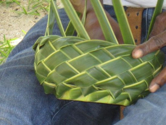 Coyaba Beach Resort:                   beach basket maker