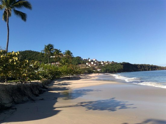 Coyaba Beach Resort:                   Grand Anse Beach