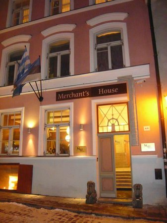 Отель Merchants House:                                     Merchant House Hotel