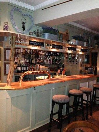 Mill at Gordleton:                   the little pub