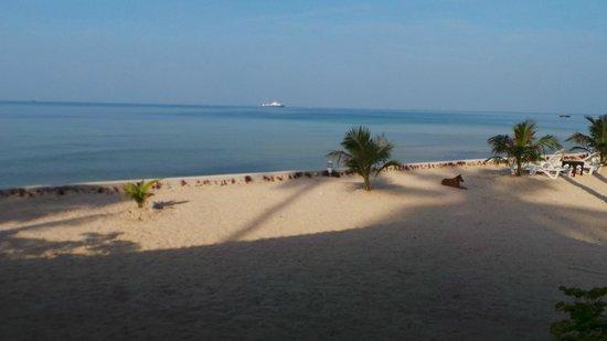 Am Samui Resort : plage