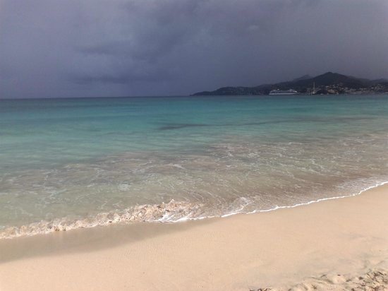 Coyaba Beach Resort:                   Grand Anse Beach