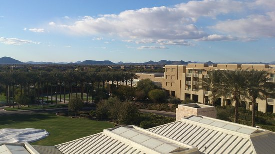 JW Marriott Desert Ridge Resort & Spa Phoenix: View from my room
