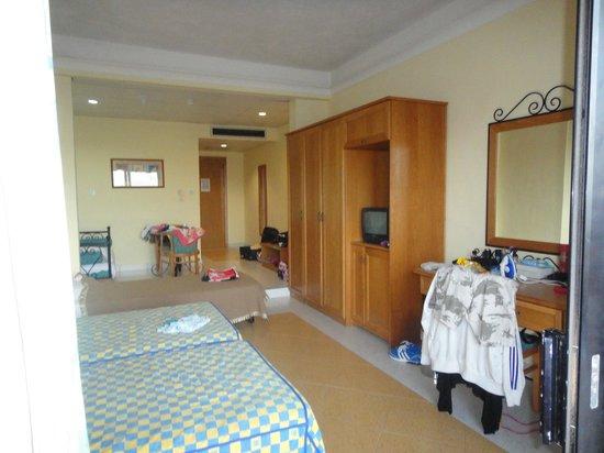 Ramla Bay Resort:                   our room