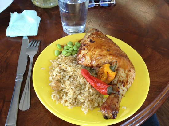 Sweet Marie's Hawaii : shoyou chicken