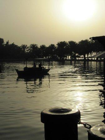 Jumeirah Al Qasr at Madinat Jumeirah:                   Sunset