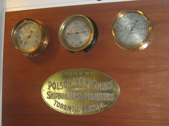 Muskoka Steamships and Discovery Centre:                   Steam Gauge