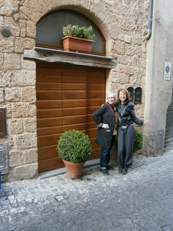 B&B La Casa di Tufo:                   Me and the lovely B&B owner