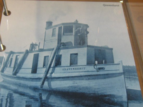 Muskoka Steamships and Discovery Centre:                   Steam Tug Gravenhurst