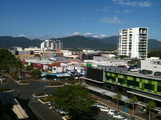 Mantra Esplanade Cairns:                   view of city from level 6 city view room