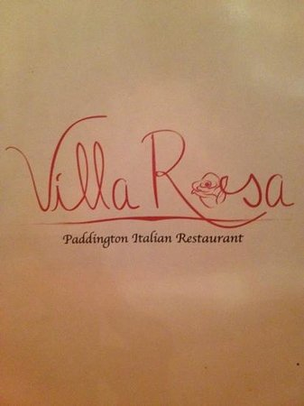 Villa Rosa:                   The Logo Looks Great